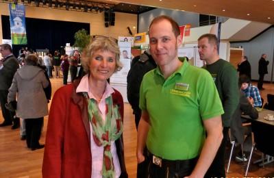 Andrea Bogner-Unden mit Firmenchef Jürgen Ummenhofer