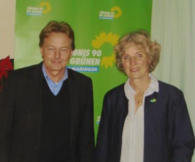 Mit Sigfried Lehmann, Vorsitzender des Bildungsausschusses und MdL bei einer Informationsveranstaltung über Bildungspolitik in Wald