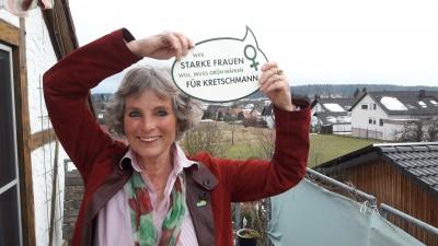 Andrea Bogner-Unden - Wer starke Frauen will, muss Grün wählen - für Kretschmann