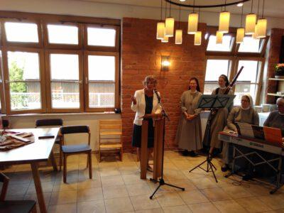 MdL Andrea Bogner-Unden bei ihrem Grußwort (Foto: Michael Köberle, Sießen)