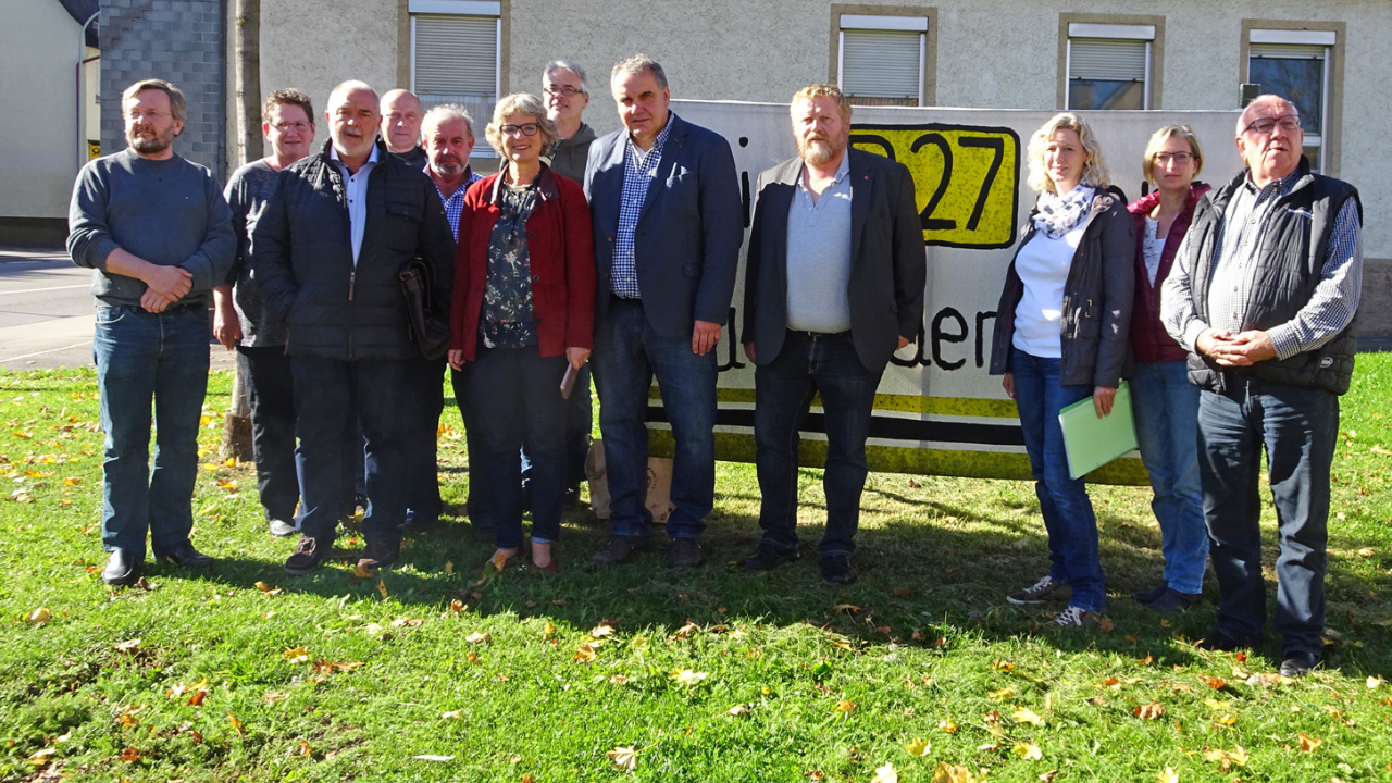 Gespräch mit der Bürgerinitiative der Ortsumfahrung Endingen-Erzingen