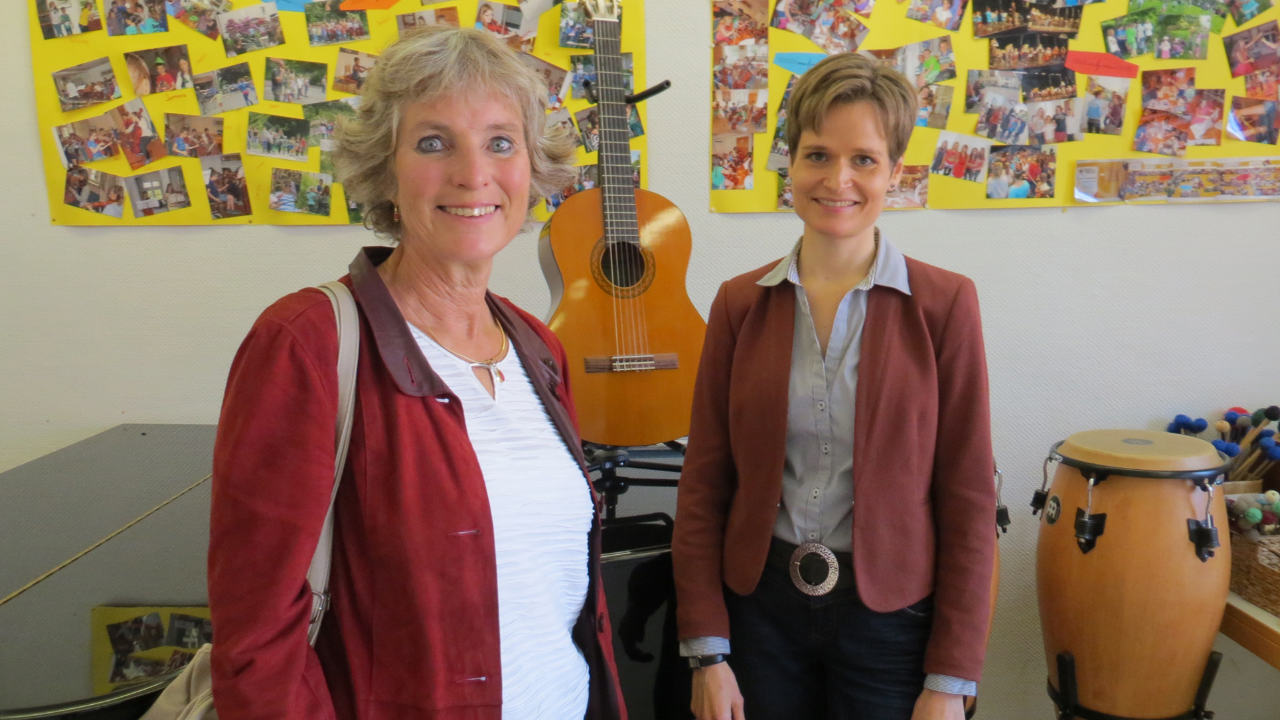 ANDREA BOGNER-UNDEN  Gespräch mit derSigmaringerMusikschulleiterin Ellen Valerius