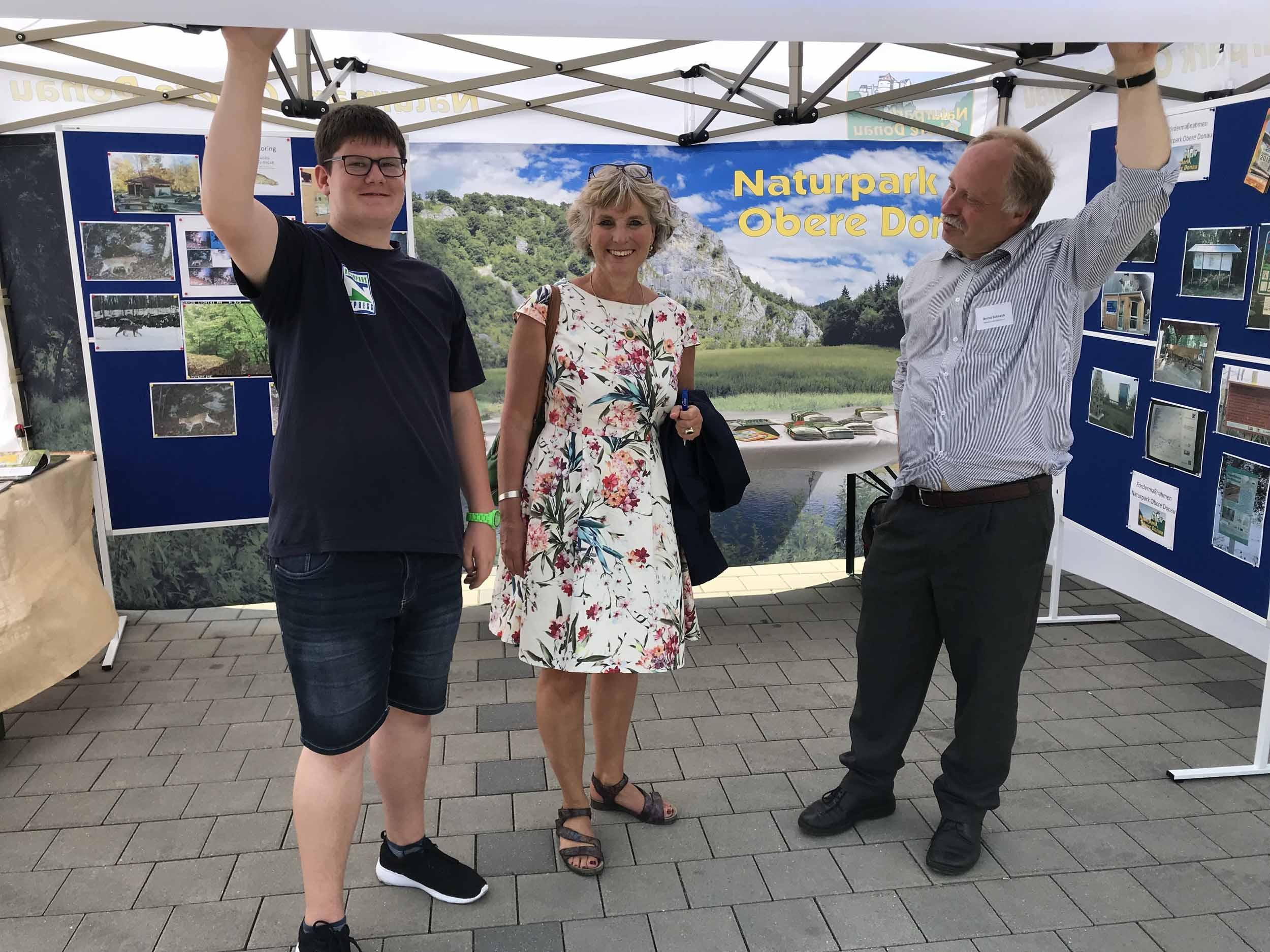 Besuch regionale Mobilitätsmesse in Sigmaringen