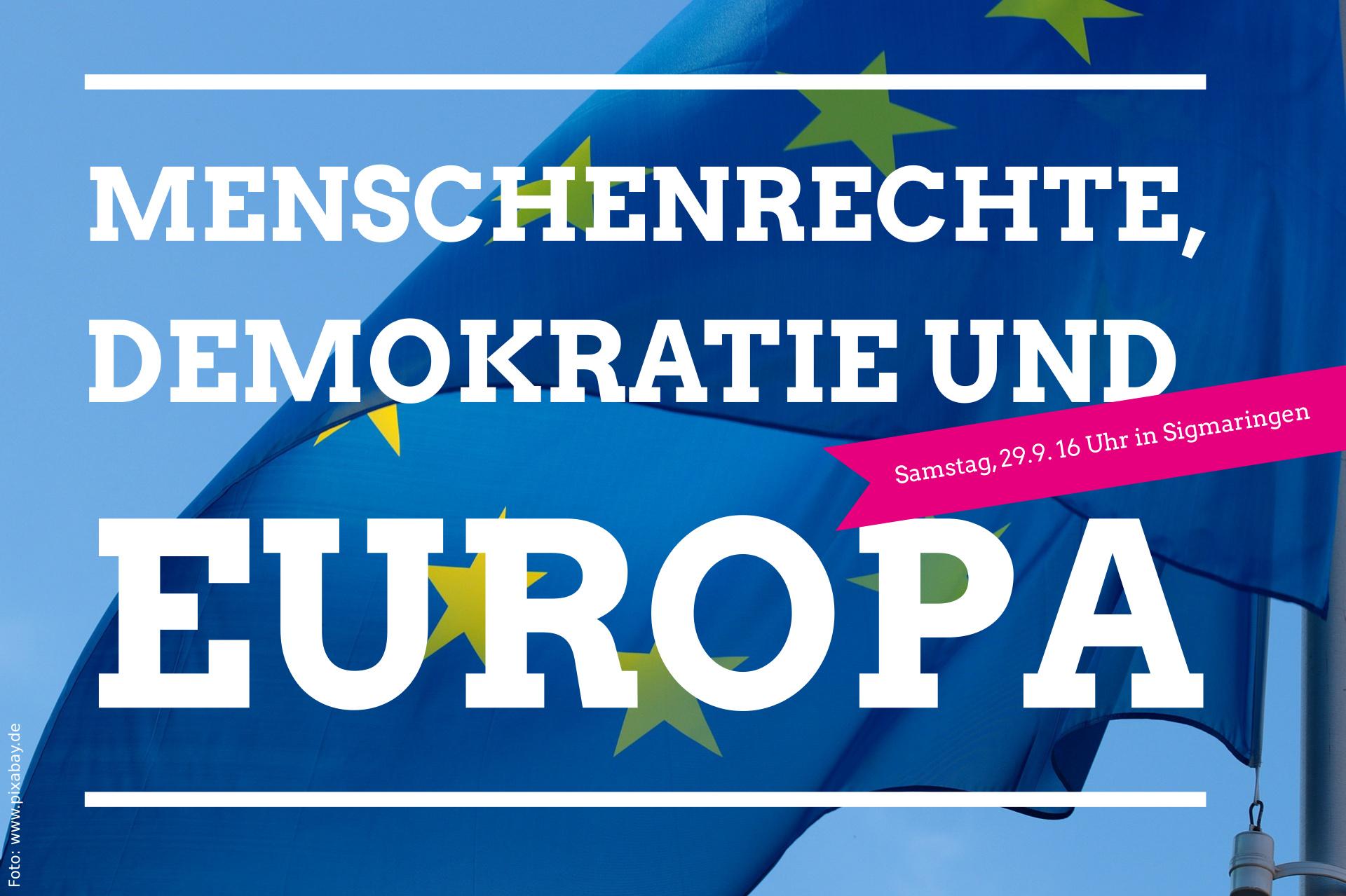 Einladung zur Kundgebung am Samstag, 29.9.18 in Sigmaringen
