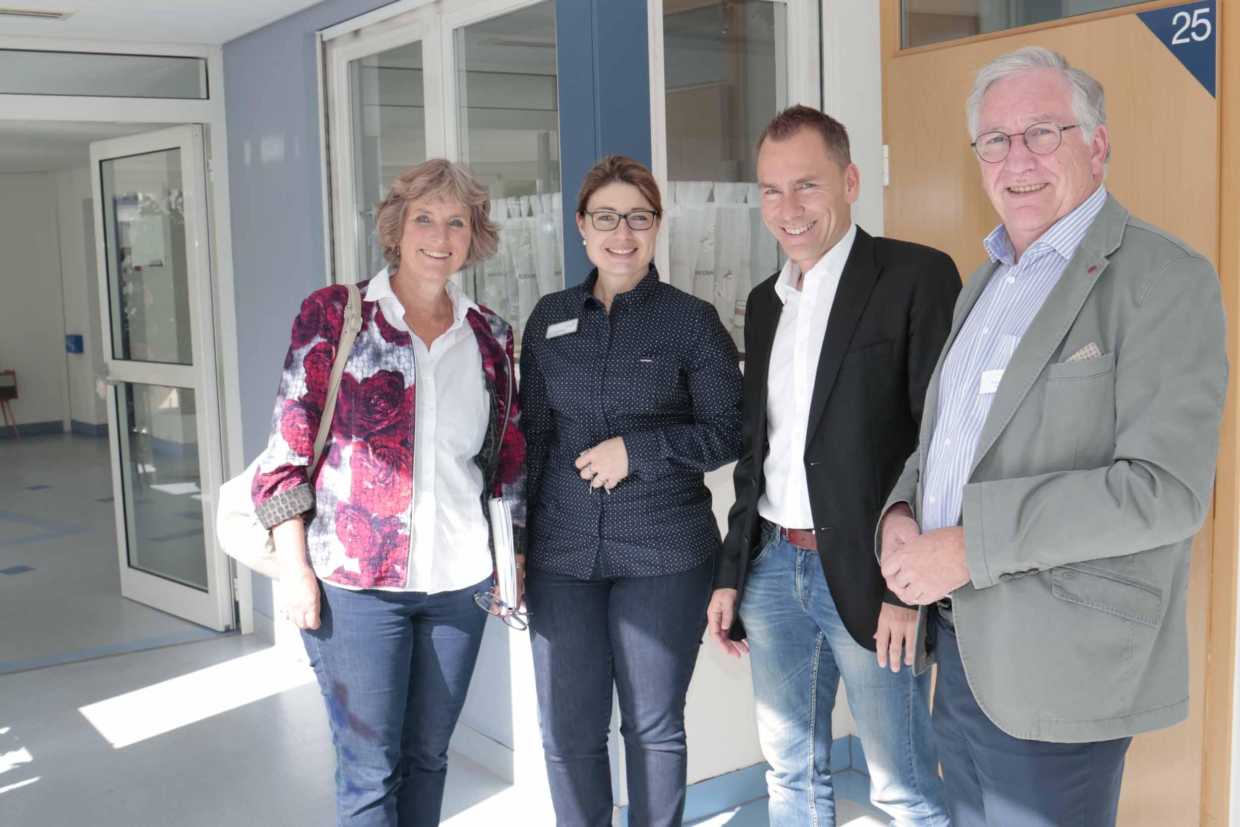 MdL Bogner-Unden besucht Seniorenwohnanlage Fideliswiesen in Sigmaringen