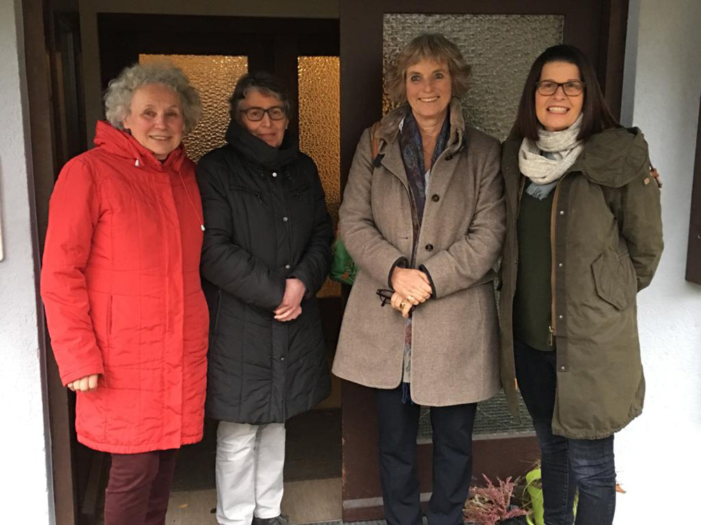 Gespräch mit Arbeitskreis Asyl in Bad Saulgau