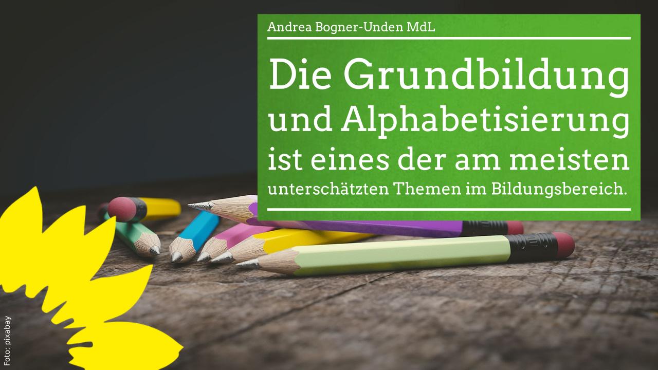 Grundbildung und Alphabetisierung