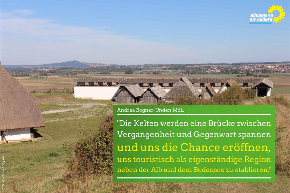 Heuneburg trägt kulturelles Erbe weiter und wird zentrale Kelten-Erlebniswelt
