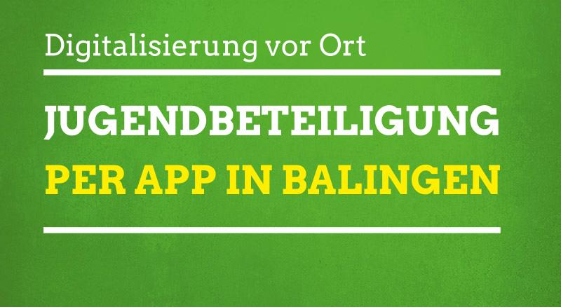 Jugendbeteiligung in Balingen per App