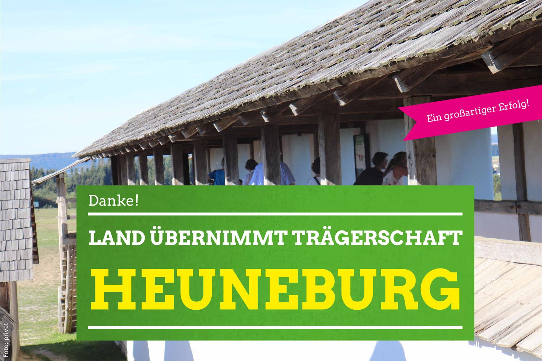 Land investiert in Heuneburg