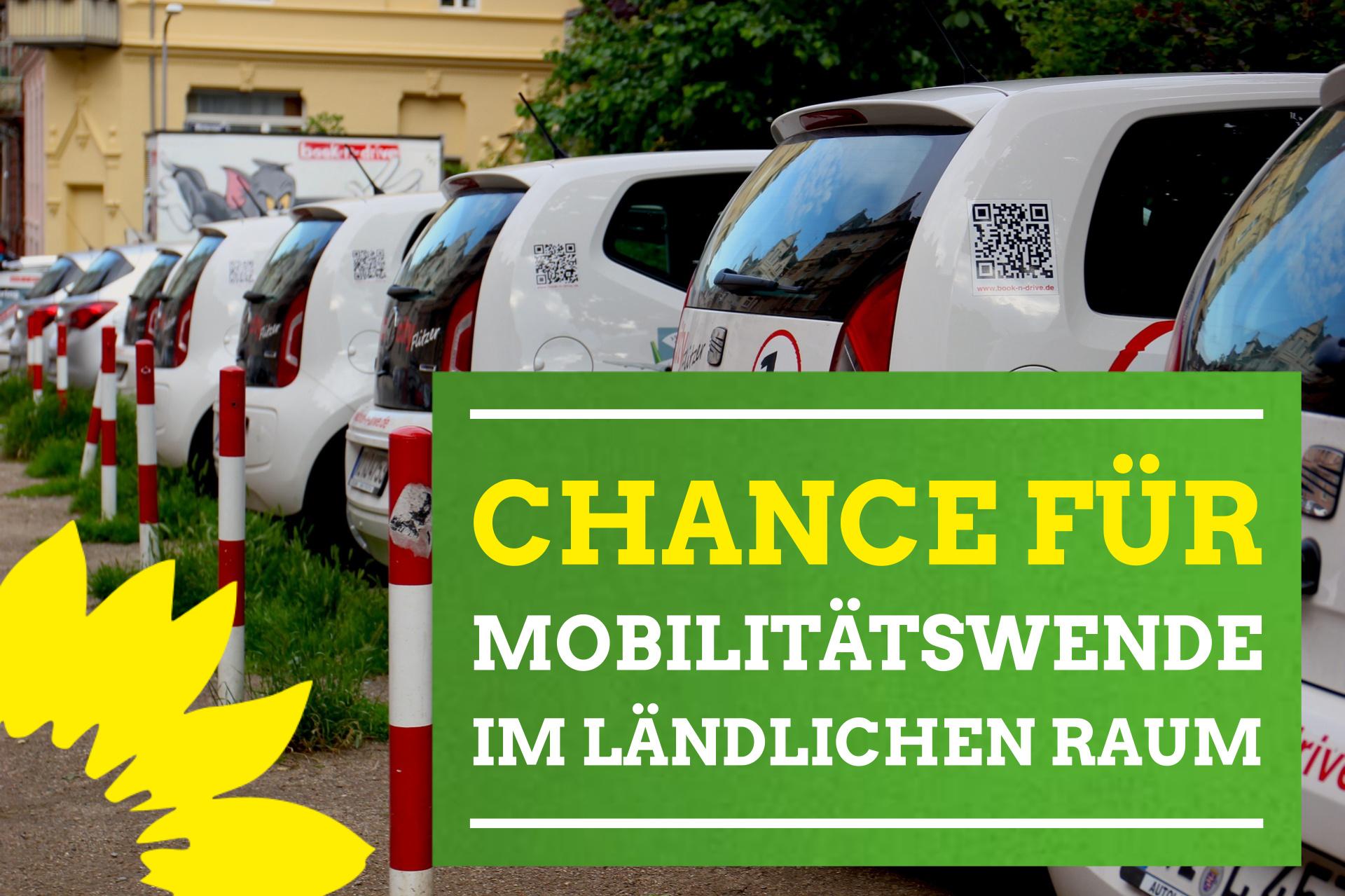 """Andrea Bogner-Unden MdL und Klaus Harter: """"Mehr Parkplätze machen Carsharing attraktiver"""""""