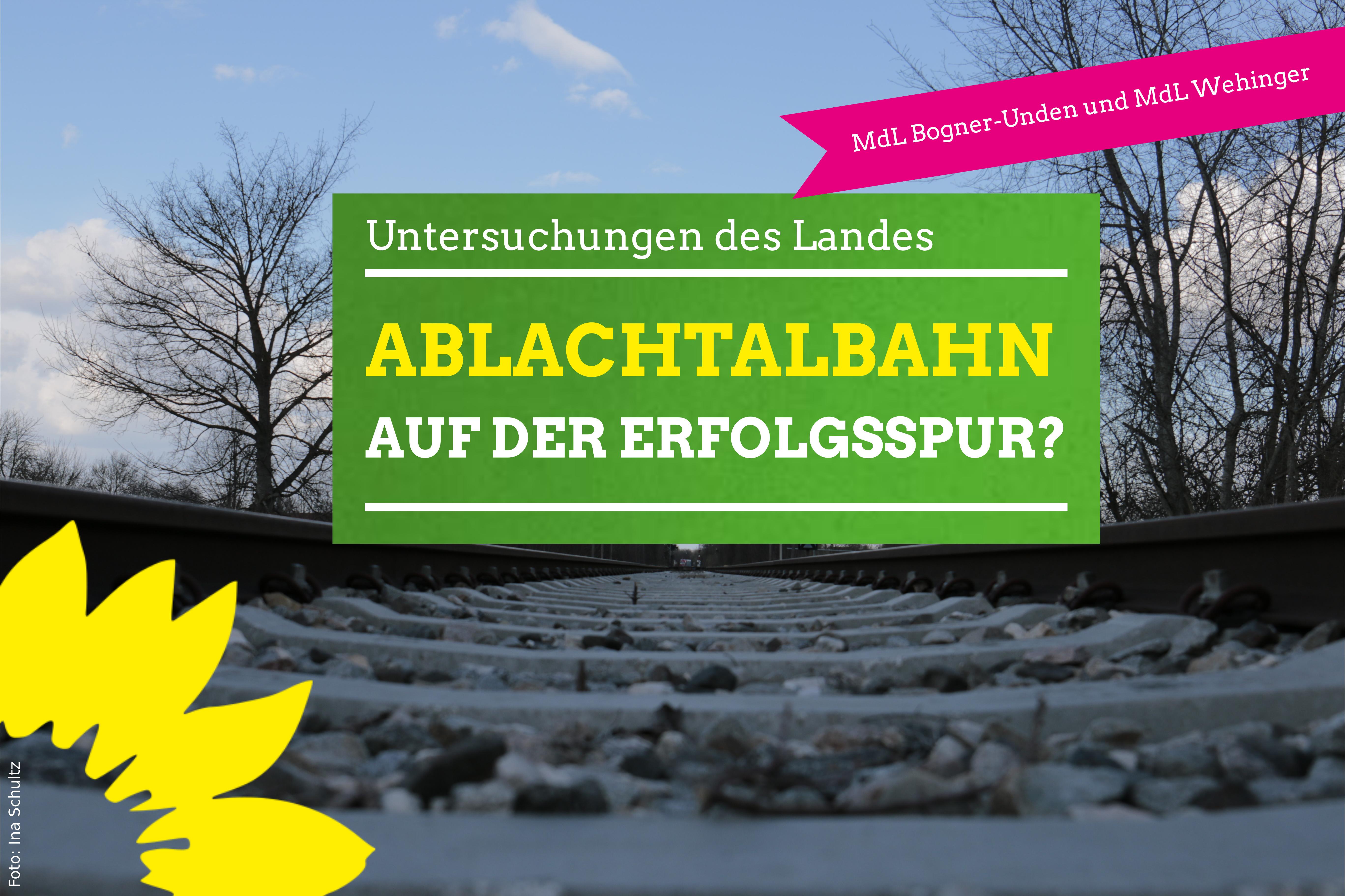 Andrea Bogner-Unden MdL und Dorothea Wehinger MdL setzen sich für Ablachtalbahn ein
