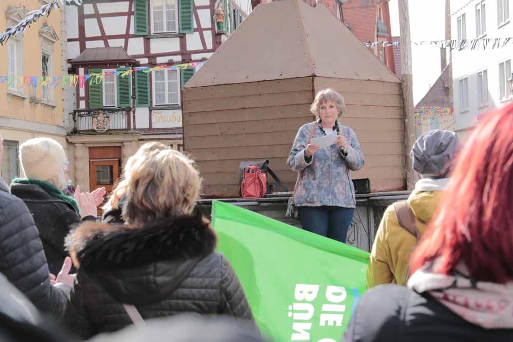Demonstration gegen Rechtsextremismus in Sigmaringen