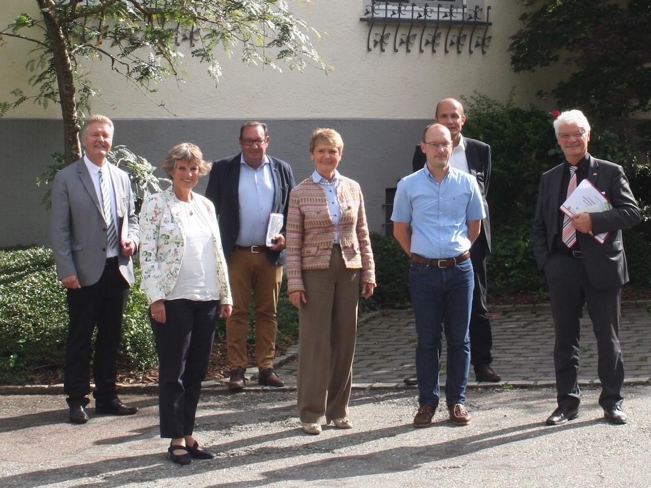 Gemeindebesuch in Ostrach