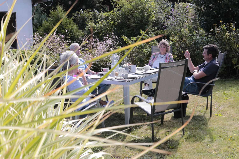 Gartengespräche in Hohentengen und Herdwangen-Schönach