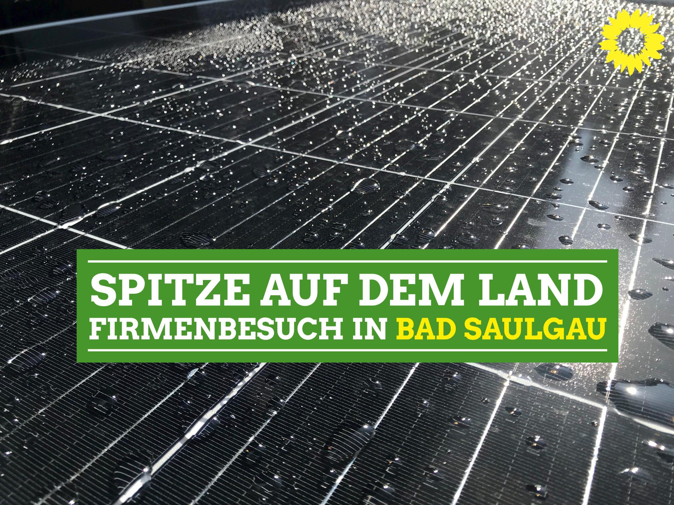 Landtagsabgeordnete Andrea Bogner-Unden besucht Firma in Bad Saulgau
