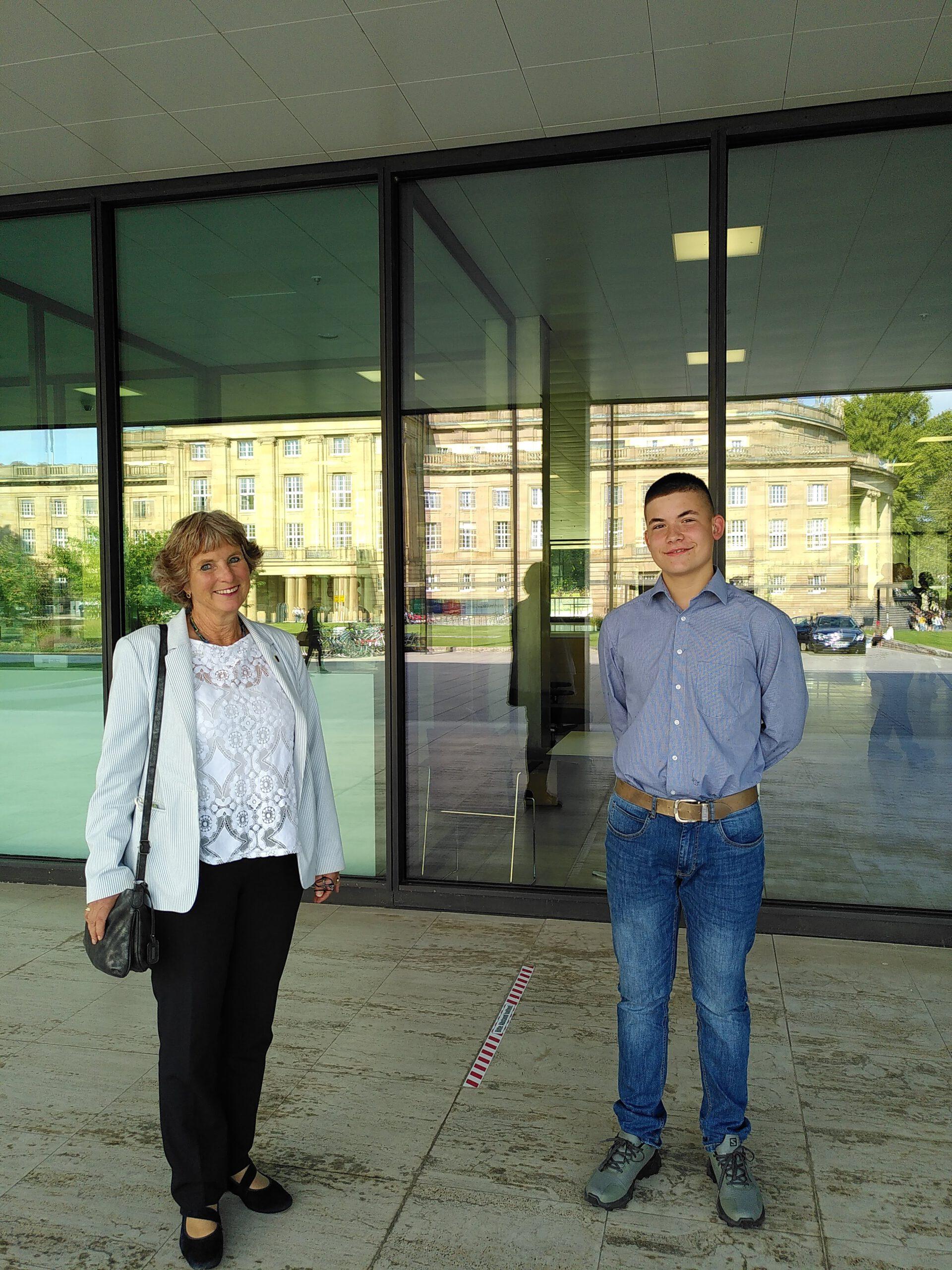 Ein Tag im Landtag