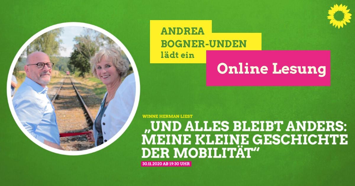 Einladung zu Online-Lesung und Austausch am 30.11.2020 ab 19.30 Uhr mit Verkehrsminister Winfried Hermann