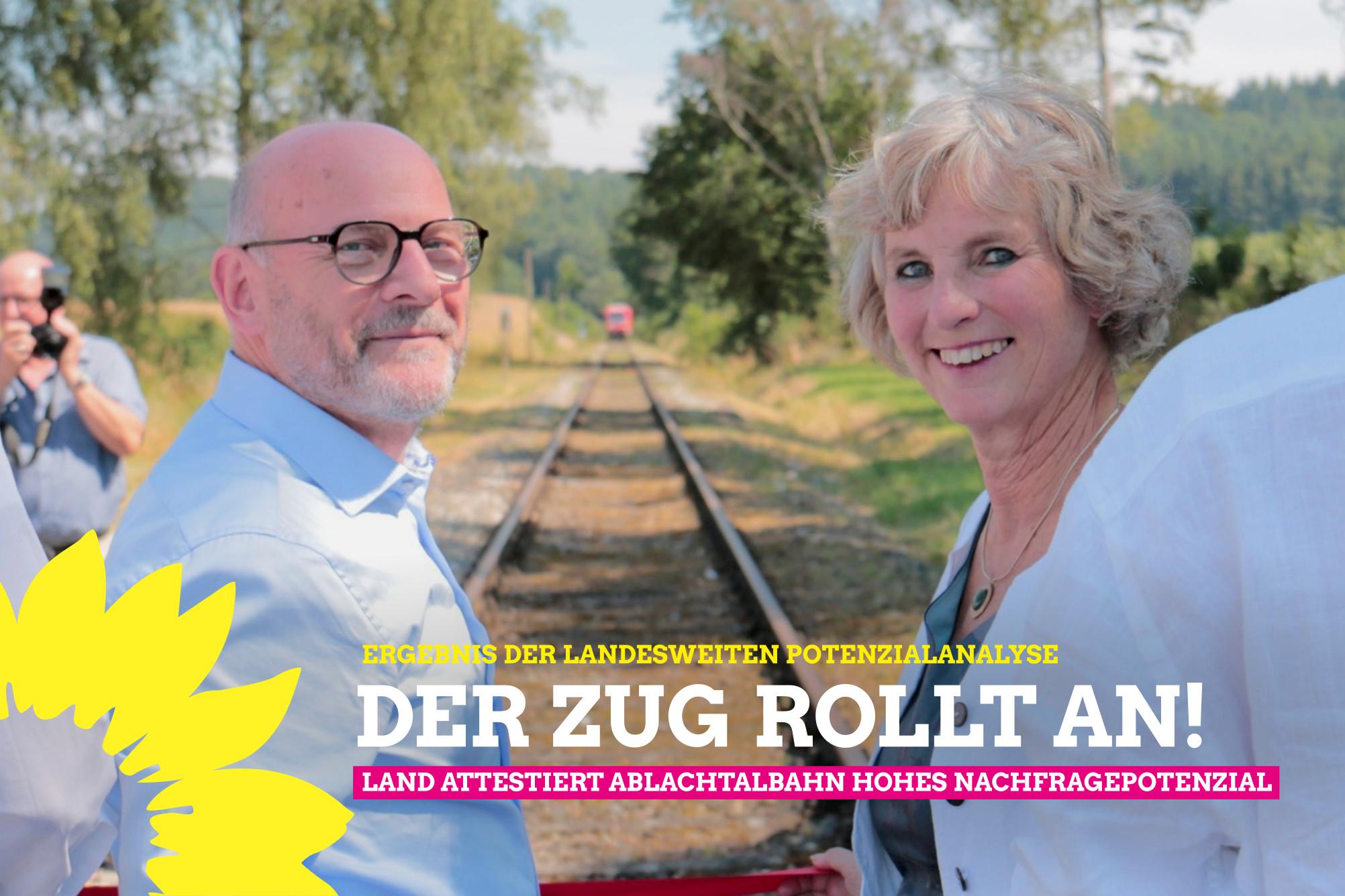 Potenzialanalyse des Verkehrsministeriums attestiert Ablachtalbahn hohes Nachfragepotenzial