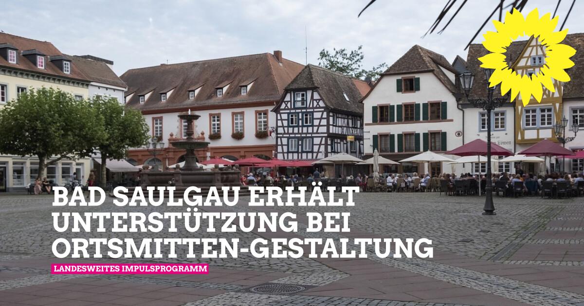 Die Gemeinde Bad Saulgau erhält Unterstützung bei der Gestaltung ihrer Ortsmitte