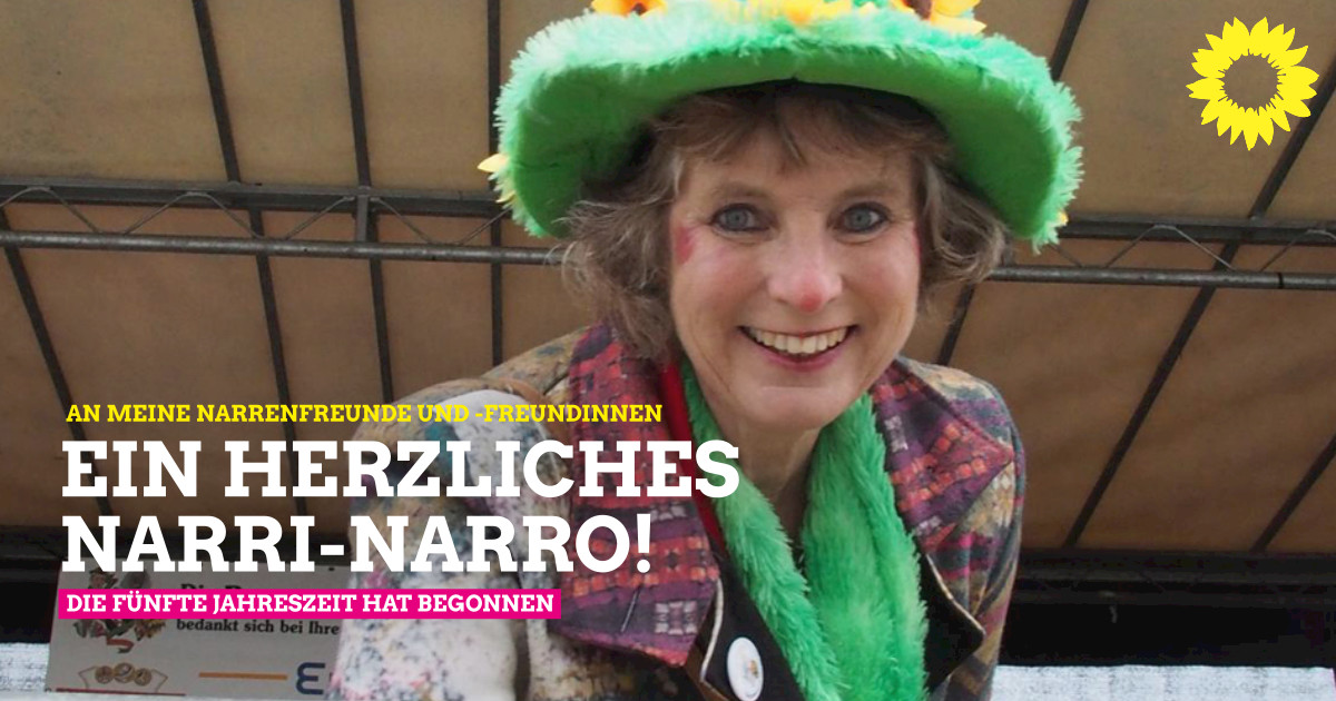 Ein herzliches Narri-Narro!