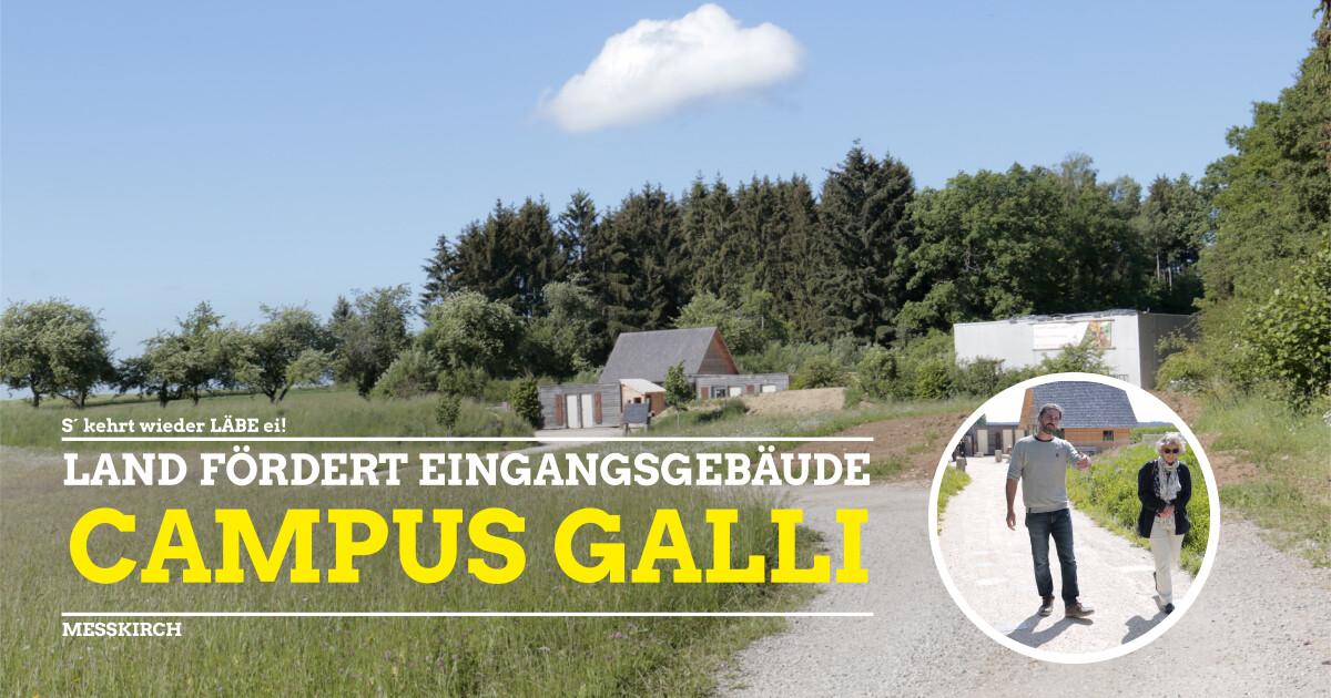 Campus Galli erhält vom Land Fördermittel