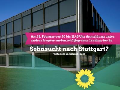 Virtuelle Besucherfahrt in den Landtag