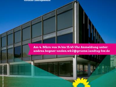 Zweite virtuelle Besucherfahrt in den Landtag