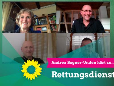 Andrea Bogner-Unden hört zu…Rettungsdienst
