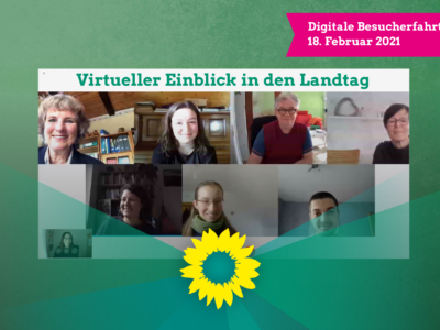 Virtuelle Einblicke in den Landtag