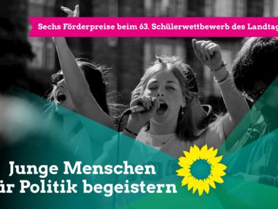 Sechs Förderpreise beim 63. Schülerwettbewerb des Landtags