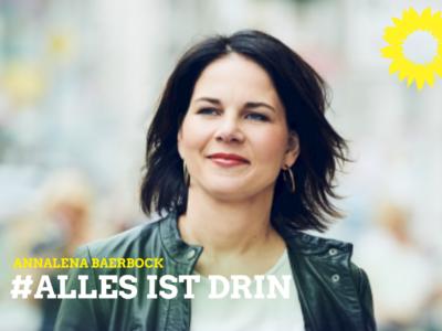 Bundestagswahl mit Baerbock als Grüner Kanzlerkandidatin
