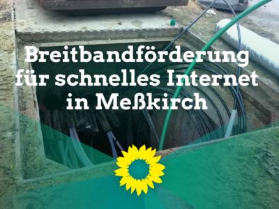 Breitbandförderung für schnelles Internet in Meßkirch