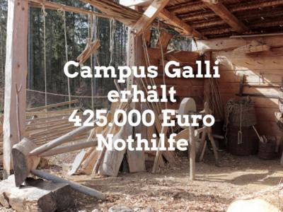 Weitere 425.000 Euro für Campus Galli