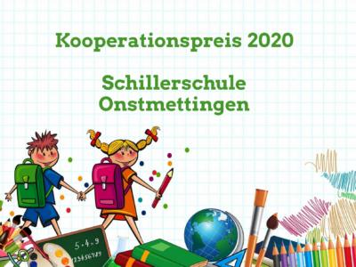 Kooperationspreis 2020 für Schillerschule Onstmettingen